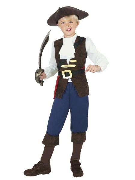 Dětský kostým Vznešený pirát - Půjčovna kostýmů Praha 2d1d56db80c