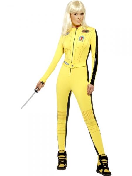31205e505a4 Kill Bill - žlutý kostým - Půjčovna kostýmů Praha