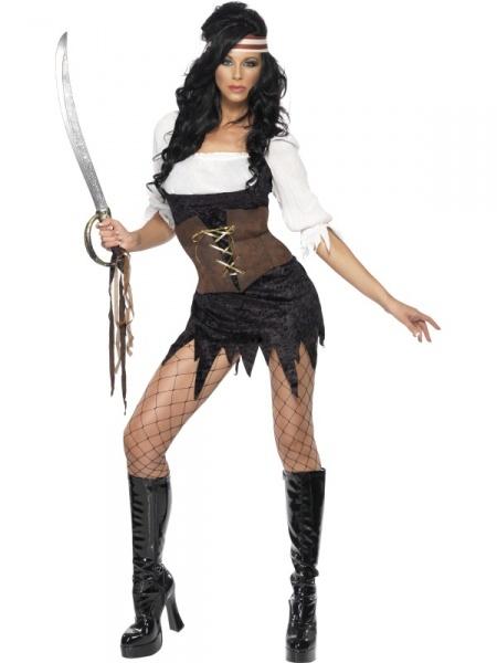 f83e932bd3f0 Kostým Sexy pirátka z Karibiku - Půjčovna kostýmů Praha