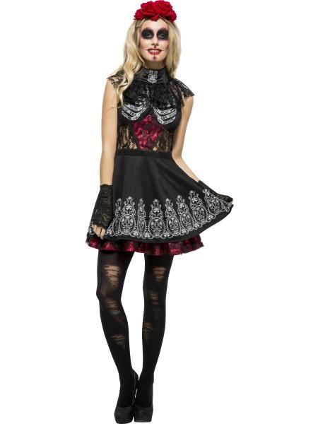 fe088aeb972c Kostým mrtvé ženy z Mexika je perfektní volbou na Halloween